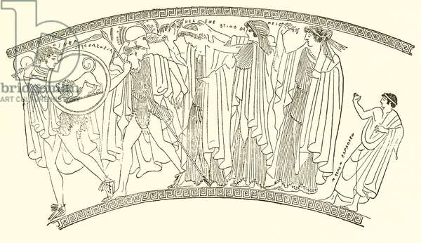 Abduction of Helen (engraving)