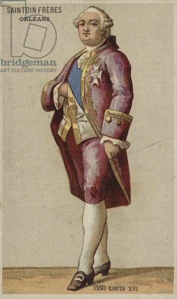 Louis XVI (chromolitho)