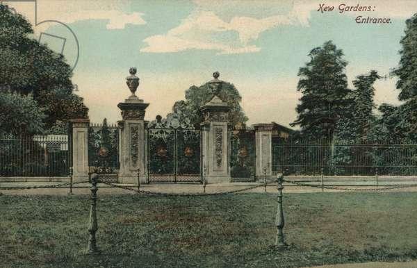 Kew Gardens, Entrance (photo)