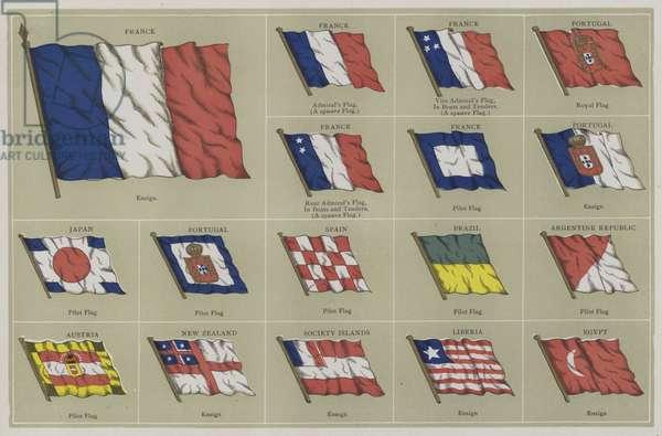 Flags (colour litho)