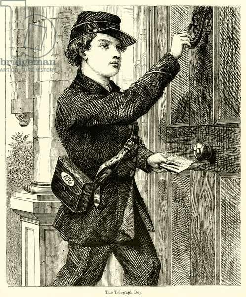 The Telegraph Boy (engraving)