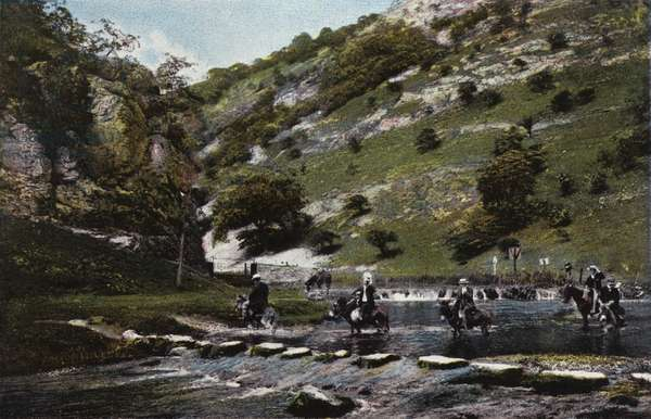 Dovedale, The Stepping Stones (photo)