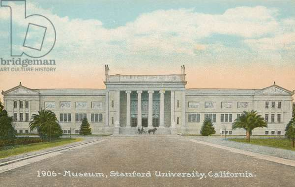 Museum, Stanford University, California (colour photo)