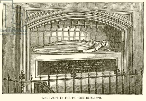 Monument to the Princess Elizabeth (engraving)