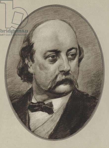 Gustave Flaubert (litho)