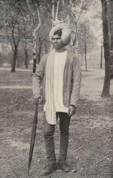 A Hindoo Juggler (b/w photo)