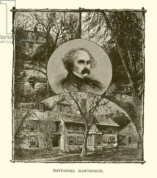 Nathaniel Hawthorne (engraving)