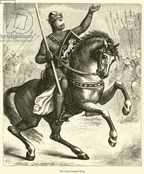 The Lion-hearted King (engraving)