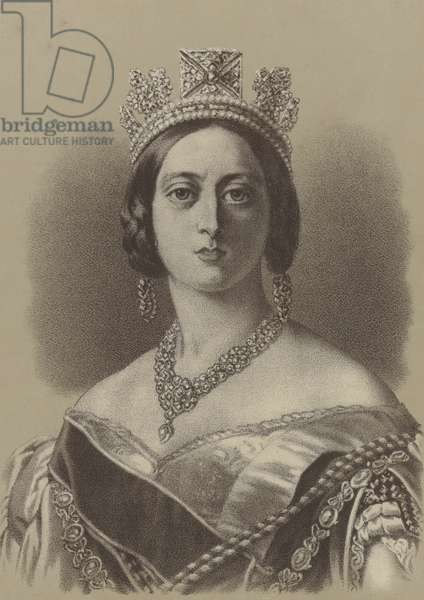 Queen Victoria (litho)