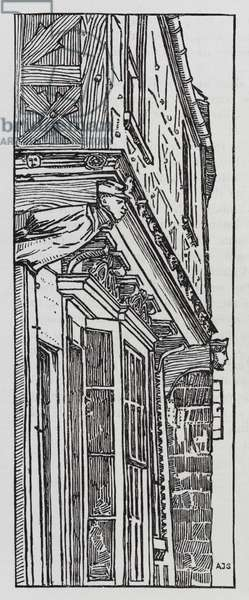 Hans Christian Andersen: The Old House (litho)