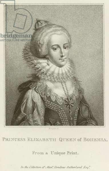 Princess Elizabeth, Queen of Bohemia (engraving)