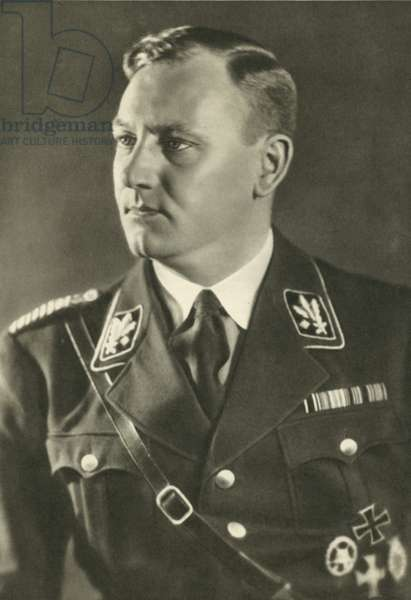 Victor Lutze, commander of the Sturmabteilung (SA) (b/w photo)