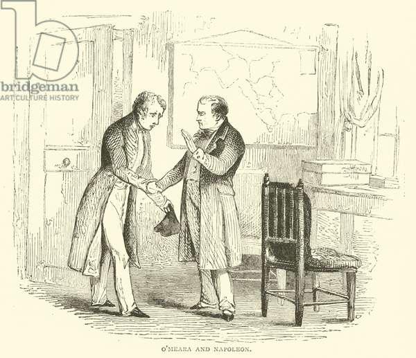 O'Meara and Napoleon (engraving)
