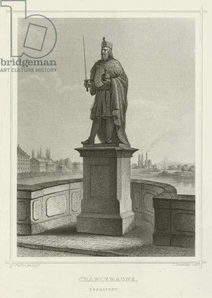 Charlemagne, Frankfort (engraving)