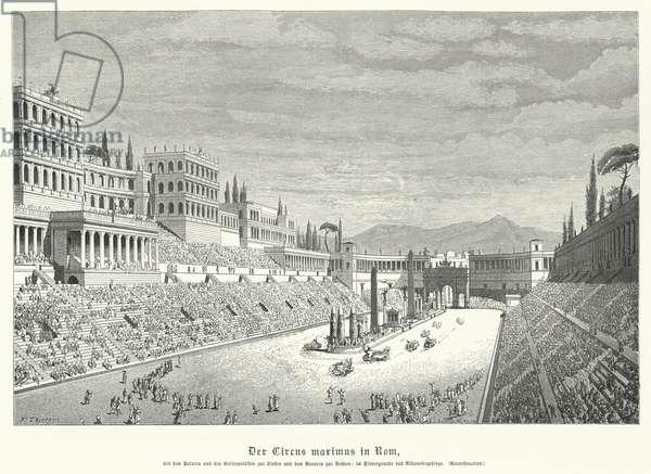 Circus Maximus, Rome (engraving)