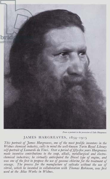 James Hargreaves (b/w photo)