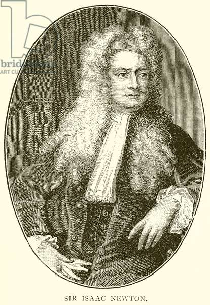 Sir Isaac Newton (engraving)