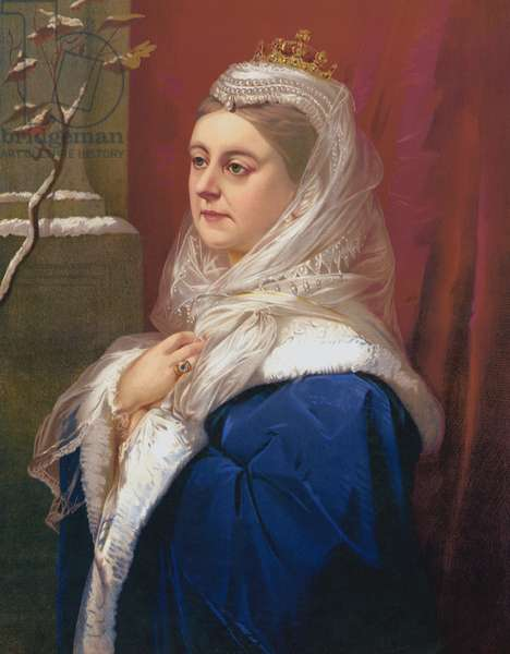 Winter - Queen Victoria (chromolitho)