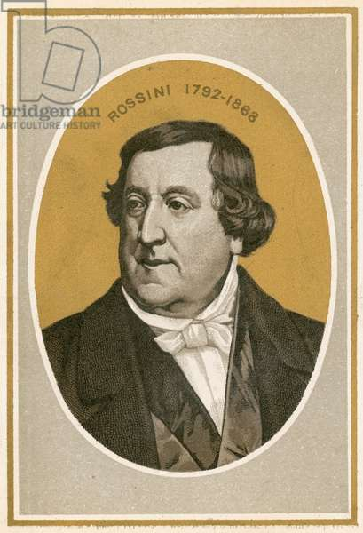 Rossini (colour litho)