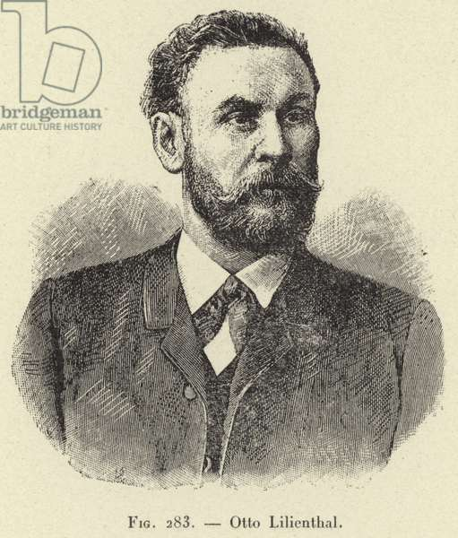 Otto Lilienthal (engraving)