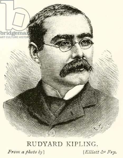 Rudyard Kipling (engraving)