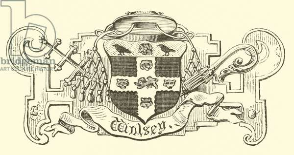 Crest of Wolsey (engraving)