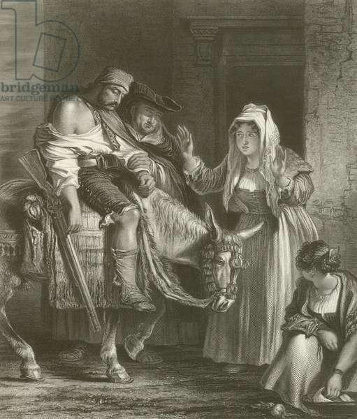 The Guerilla's Return (engraving)