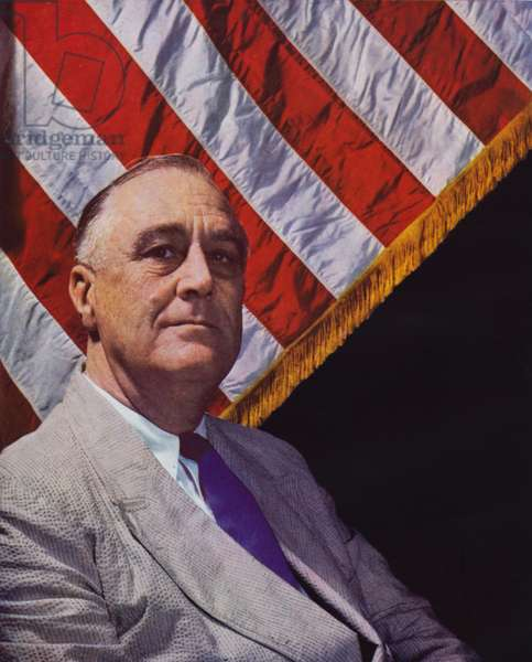 Franklin D Roosevelt, 32nd President of the United States (photo)