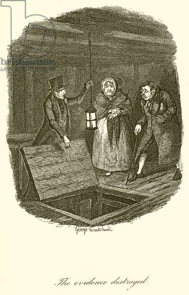 The Evidence Destroyed (engraving)