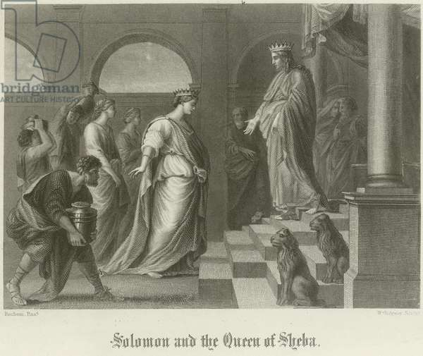 Solomon and the Queen of Sheba (engraving)