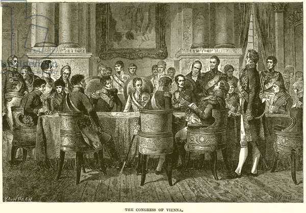 The Congress of Vienna (engraving)