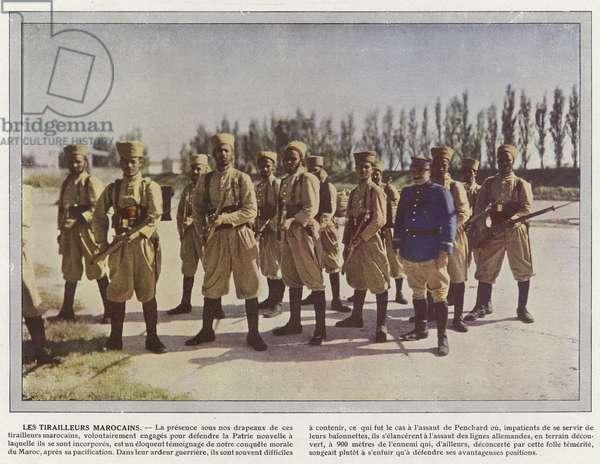 Les Tirailleurs Marocains (photo)