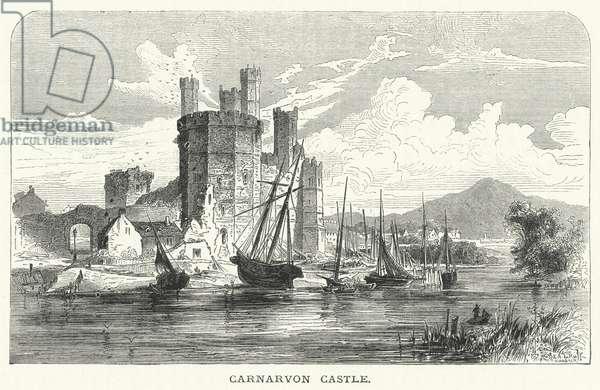 Carnarvon Castle (engraving)
