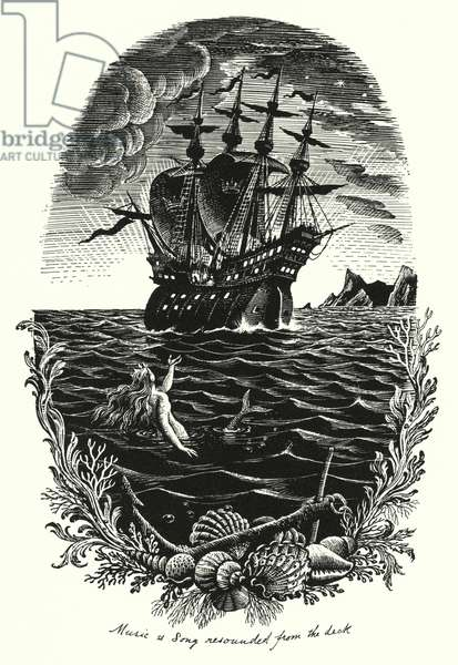 Hans Christian Andersen: The Little Mermaid (litho)