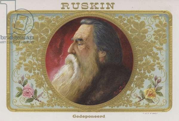 John Ruskin (chromolitho)