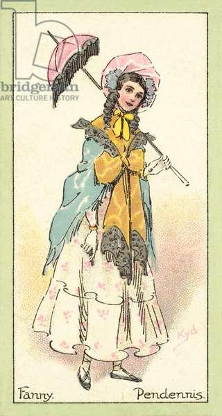 Fanny, Pendennis (chromolitho)
