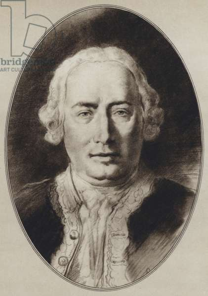 Portraits of Great Philosophers: Hume (litho)