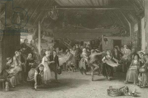 The Penny Wedding (engraving)