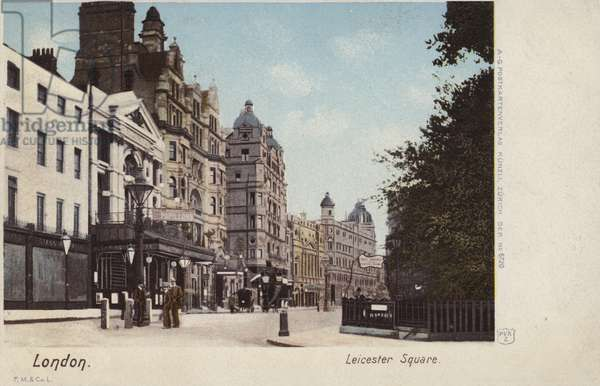 Leicester Square, London (coloured photo)