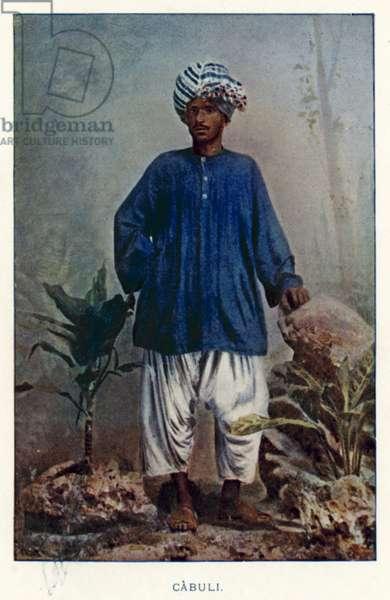 Indian Natives: Cabuli (coloured photo)