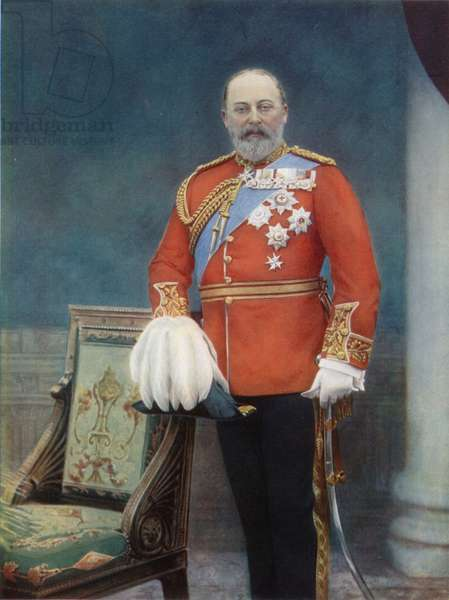 The Prince of Wales, future King Edward VII