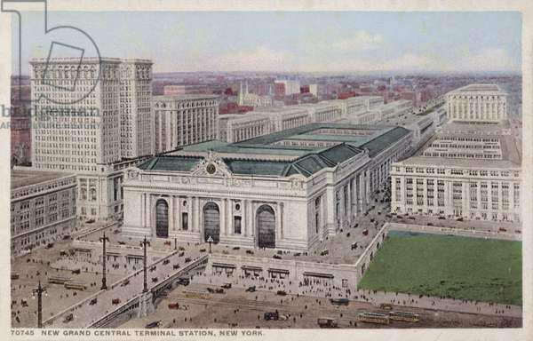 New Grand Central Terminal Station, New York (photo)