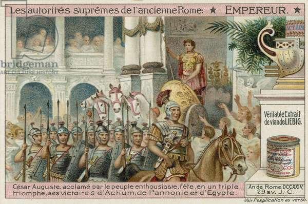 Emperor, Caesar Augustus