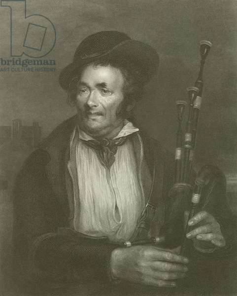 The Bagpiper (engraving)
