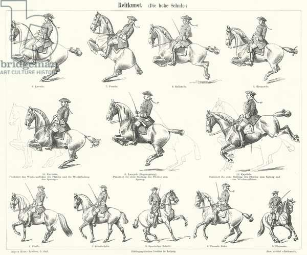 Horsemanship (engraving)