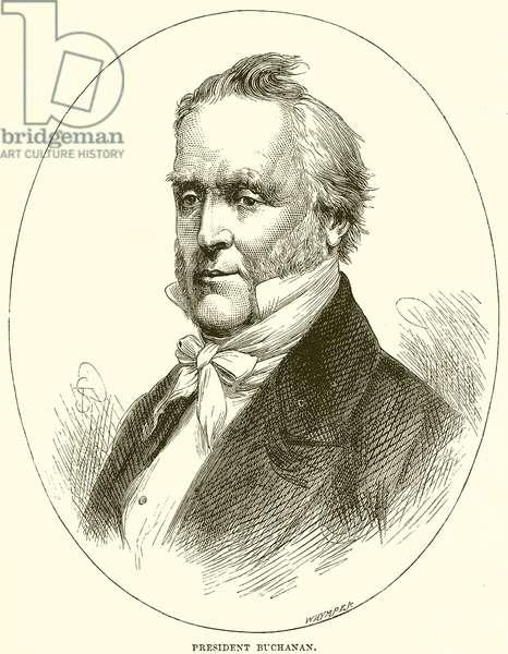President Buchanan (engraving)