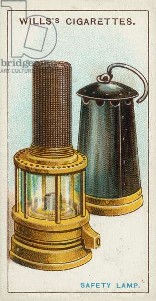 Safety Lamp (chromolitho)