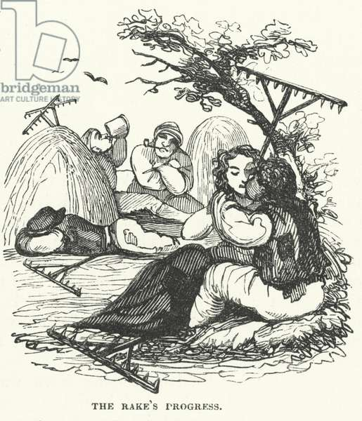 The rake's progress (engraving)