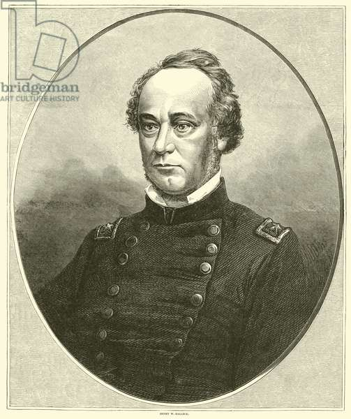 Henry W Halleck, July 1862 (engraving)