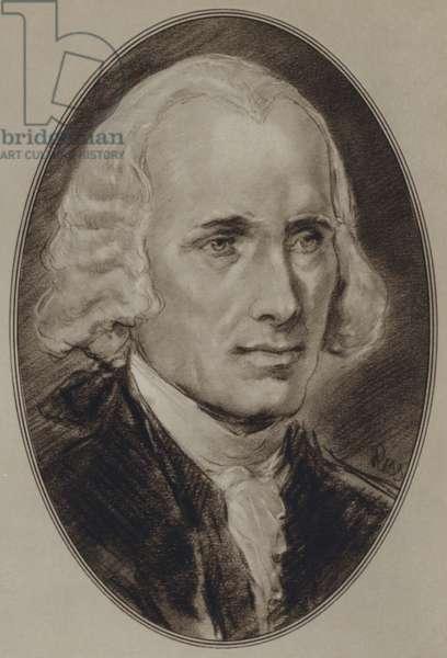 Portraits of American Statesmen: James Madison (litho)